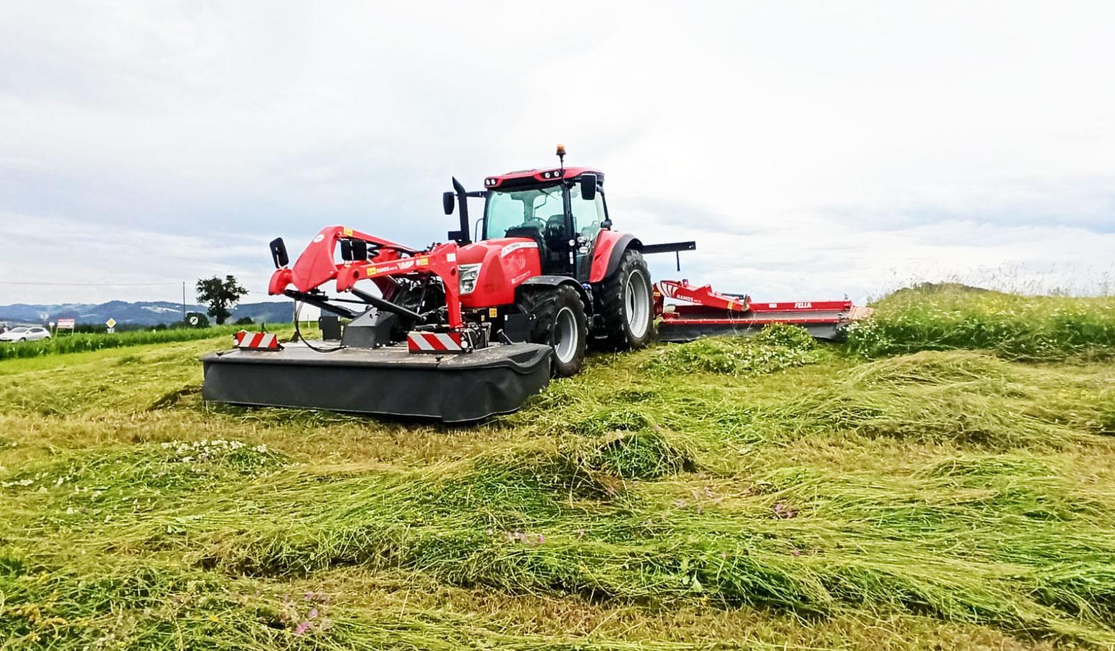 FELLA RAMOS im Einsatz bei Land- und Gartentechnik Gstöttenmeier, Wartberg, Freistadt, Österreich