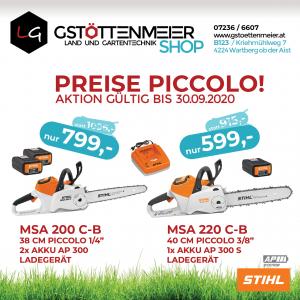 STIHL Firmen-Aktion bei Land- und Gartentechnik Gstöttenmeier, Wartberg, Freistadt, Österreich